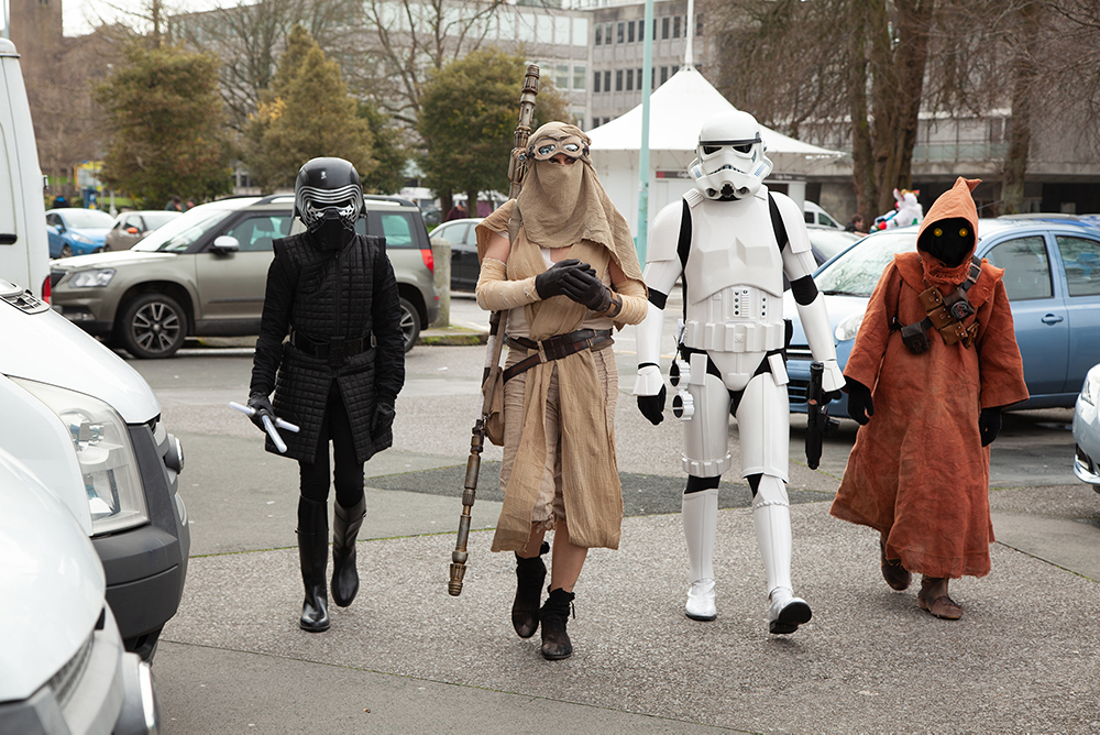Plymouth guild hall cosplay the star wars