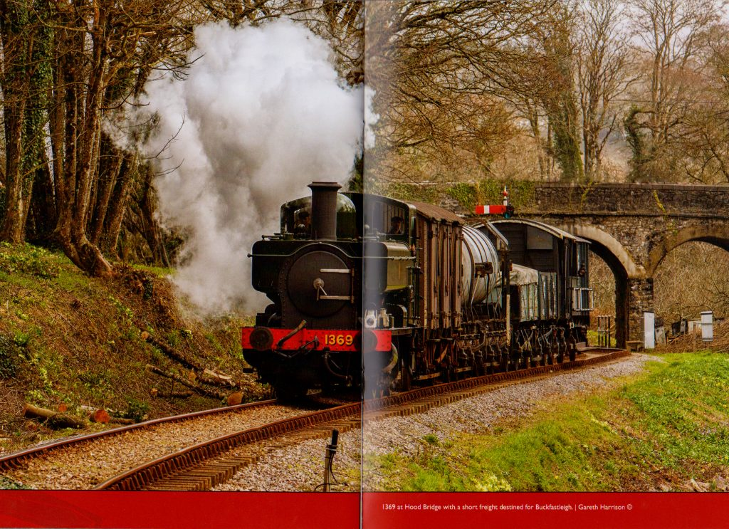 Pannier Tank locomotive 1369 published in Bulliver magazine