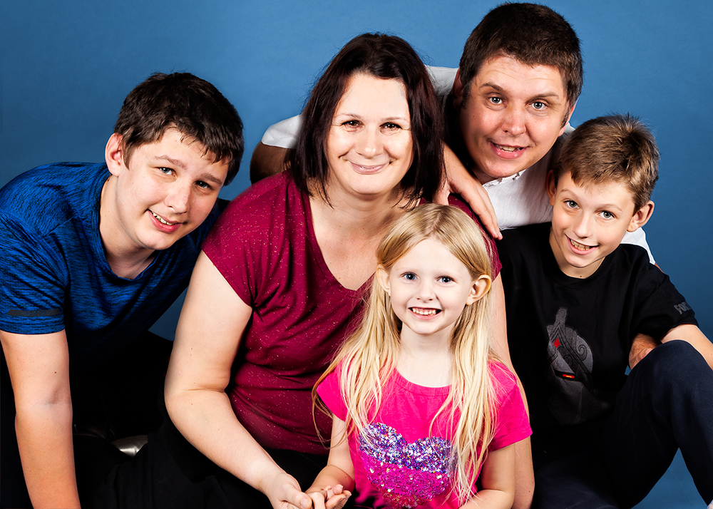 Plymouth family portrait photography